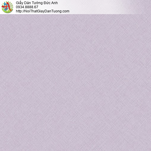 70221-9 Giấy dán tường màu tím nhạt, giấy dán tường đơn sắc một màu
