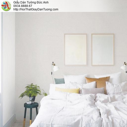 70228-1 Giấy dán tường gân kẻ chỉ màu trắng xám, giấy màu xám trắng