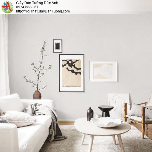 70228-2 Giấy dán tường màu xám trắng, giấy dán tường Đức Anh Tphcm