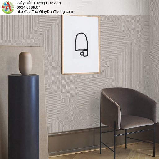 70228-3 Giấy dán tường các đường kẻ nhỏ màu xám, giấy dán tường Tpchm