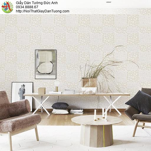 70230-2 Giấy dán tường họa tiết hiện đại màu vàng nhạt, hoa văn mới