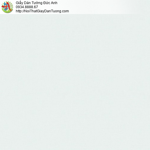70232-3 Giấy dán tường trơn màu xanh nhạt, giấy dán tường màu xanh lợt