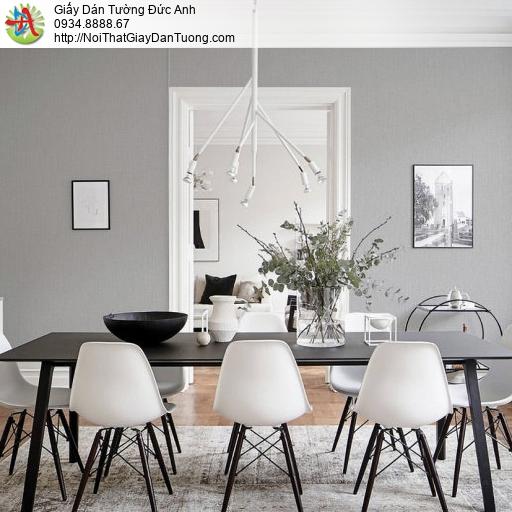 70233-4 Giấy dán tường màu xám hiện đại, giấy trơn đơn giản một màu