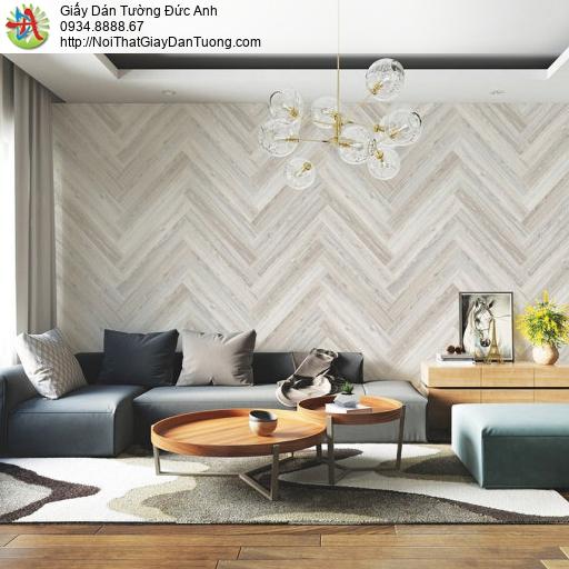 70234-1 Giấy dán tường dạng sóng biển mũi tên, giấy dán tường hiện đại