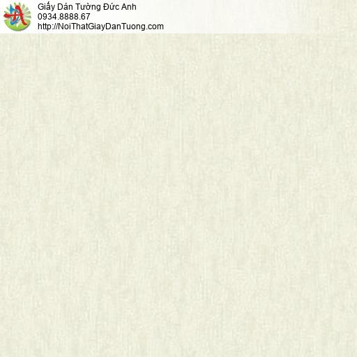 81081 Giấy dán tường vân bê tông màu vàng kem, giấy dán tường trơn gân