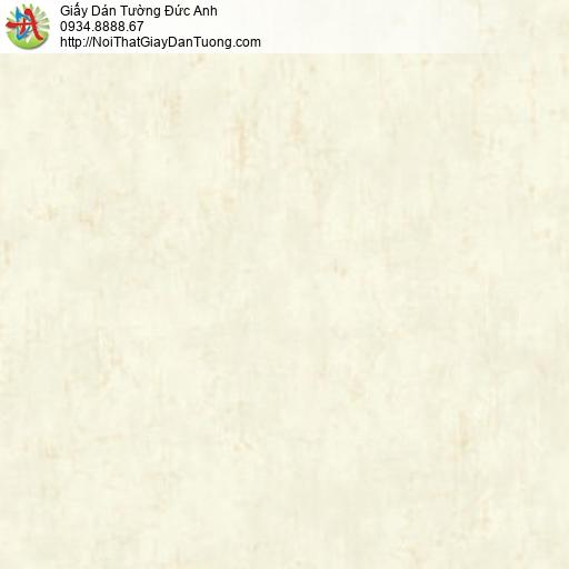 81083 Giấy dán tường một màu đơn sắc màu vàng nhạt, giấy màu vàng kem