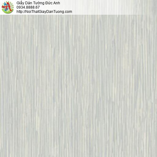 81091 Giấy dán tường sọc nhuyễn màu xám, giấy vân sóng màu xám xanh