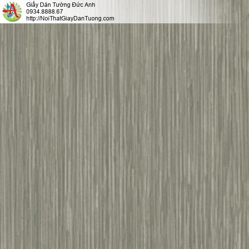 81093 Giấy dán tường sọc nhuyễn màu xanh rêu,giấy sọc nhỏ màu xám xanh