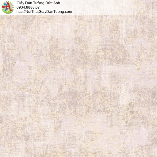 81211 Giấy dán tường vân loang màu hồng nhạt, họa tiết vân bê tông