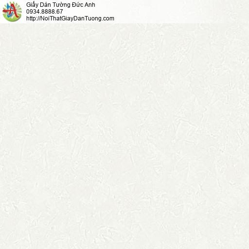 2002-1 Giấy dán tường hiện đại, giấy gân trơn đơn sắc một màu kem