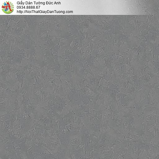 2002-4 Giấy dán tường màu bê tông, giấy hiện đại đơn sắc một màu xám