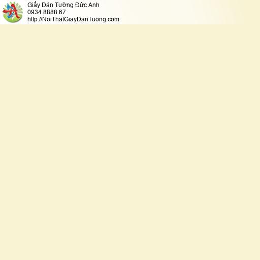 2003-4 Giấy dán tường màu vàng nhạt, giấy trơn đơn sắc một màu vàng