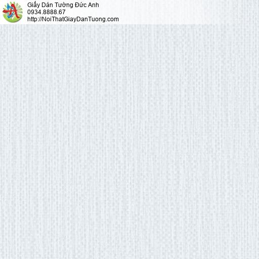 2004-4 Giấy dán tường giả vải bố màu xanh lợt, giấy dán tường hiện đại