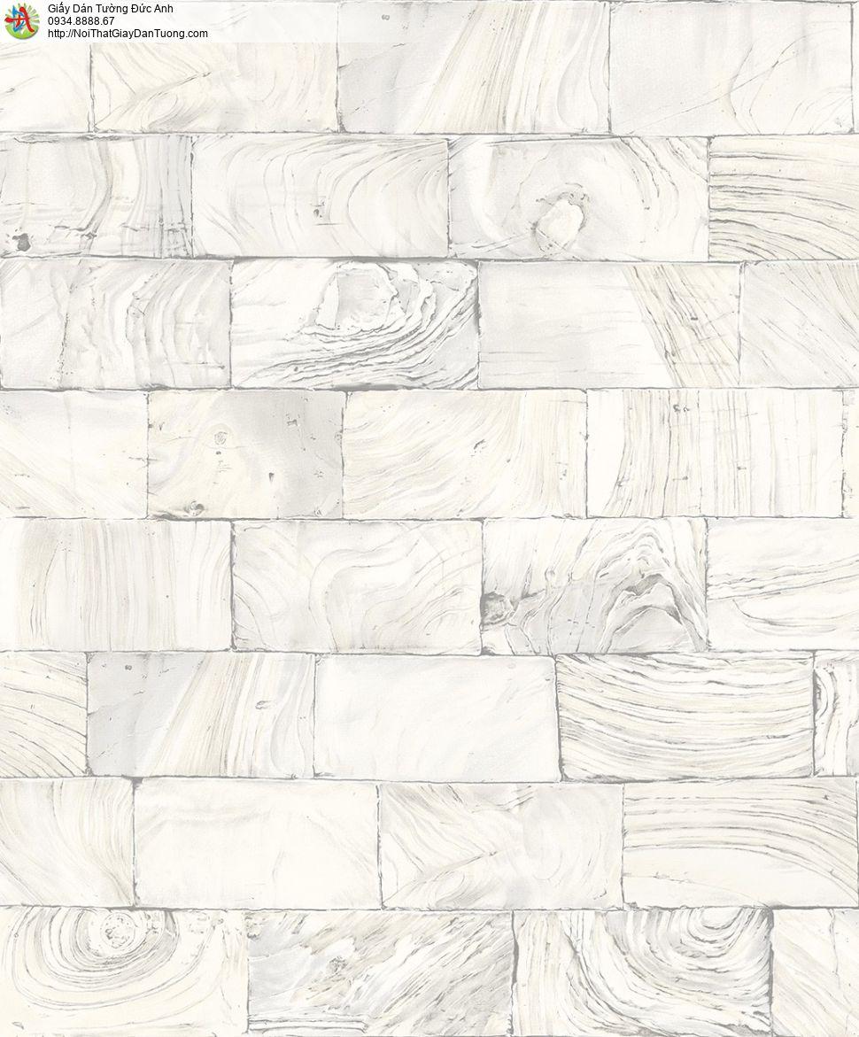 2009-2 Giấy dán tường giả đá thẻ màu vàng nhạt, đá miếng đá phiến nhỏ