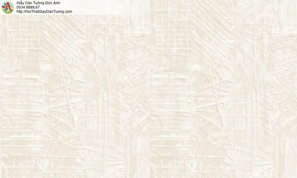 2011-4 Giấy dán tường gân to màu xám, giấy gân hiện đại màu vàng đen