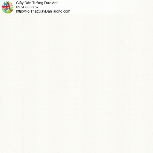 3006-1 Giấy dán tường gân nhỏ mịn màu trắng, giấy dán tường hiện đại