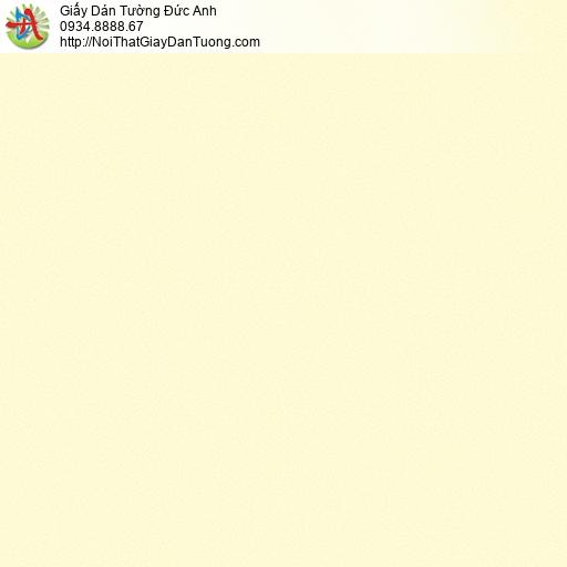 3009-10 Giấy dán tường màu vàng tươi, giấy trơn gân màu vàng nghệ hiện đại