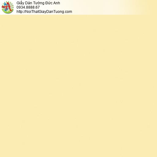 3009-12 Giấy dán tường màu vàng, giấy trơn đơn giản màu vàng nghệ hiện đại