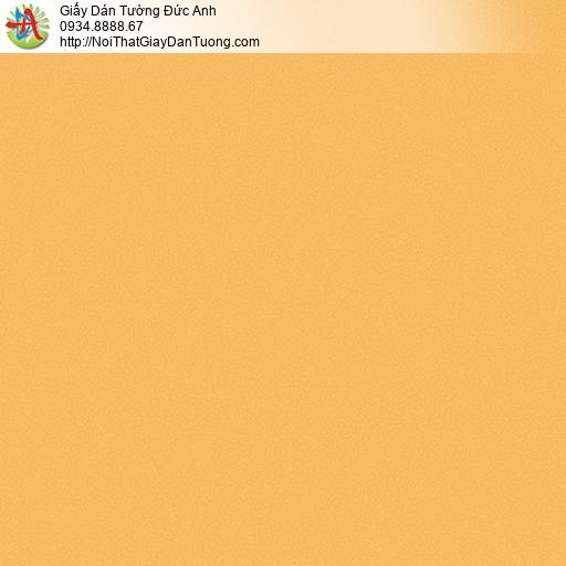 3009-13 Giấy dán tường màu vàng đồng, màu vàng cam hiện đại cho điêm nhấn