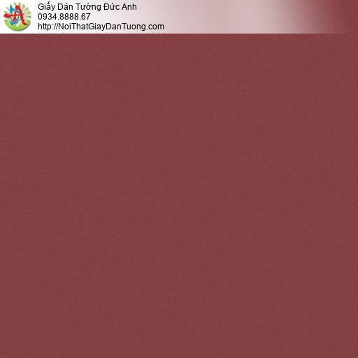 3009-18 Giấy dán tường màu đỏ đô, gấy trơn màu đỏ hiện đại
