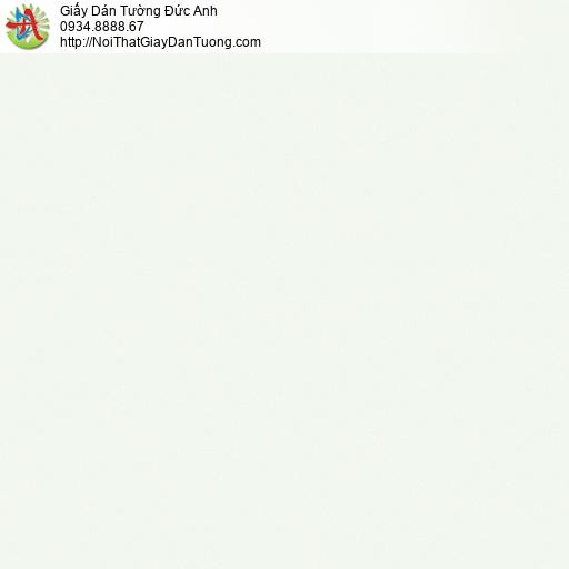 3009-5 Giấy dán tường gân đơn giản màu xanh lá nhạt, màu trắng ám xanh hiện đại