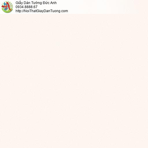 3009-6 Giấy dán tường một màu hồng nhạt, giấy gân trơn đơn giản hiện đại màu hồng lợt