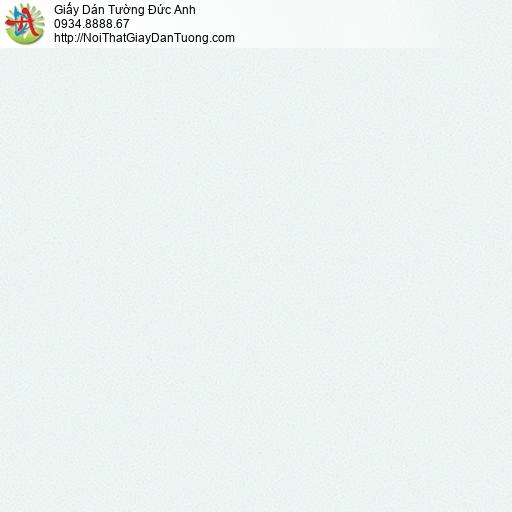 3009-7 Giấy dán tường màu xanh nhạt, giấy gân trơn đơn giản hiện đại màu xanh lợt