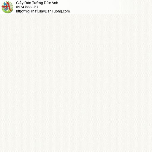 3011-1 Giấy dán tường màu trắng, giấy trơn đơn giản một màu đơn sắc