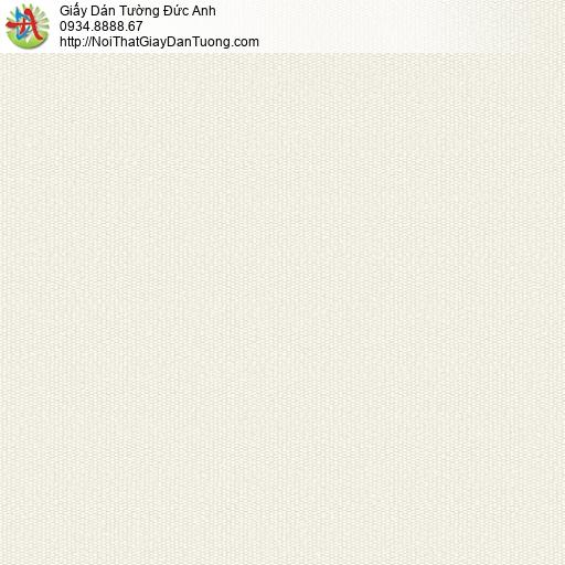 3011-5 Giấy dán tường màu kem, giấy gân trơn đơn sắc một màu mới