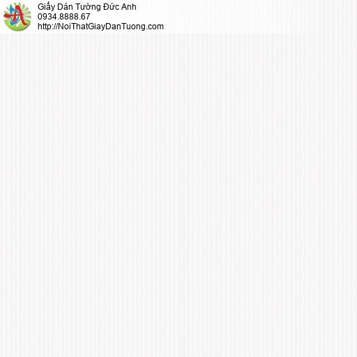 3012-1 Giấy dán tường sọc nhỏ màu trắng, giấy kẻ sọc nhỏ nhuyễn đơn giản