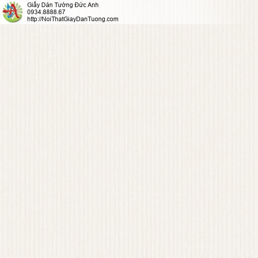 3012-2 Giấy dán tường kẻ sọc nhỏ màu kem, giấy sọc nhuyễn hiện đại