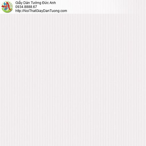 3012-4 Giấy dán tường màu tím nhạt, giấy sọc nhỏ màu tím lợt