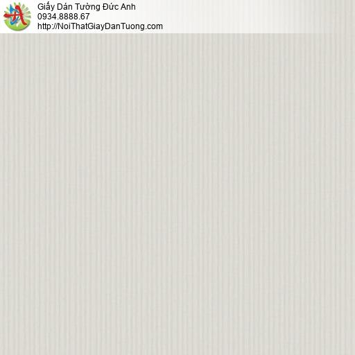 3012-7 Giấy dán tường sọc nhỏ nhuyễn màu xám nhạt, giấy sọc màu xám đẹp cho căn hộ chung cư