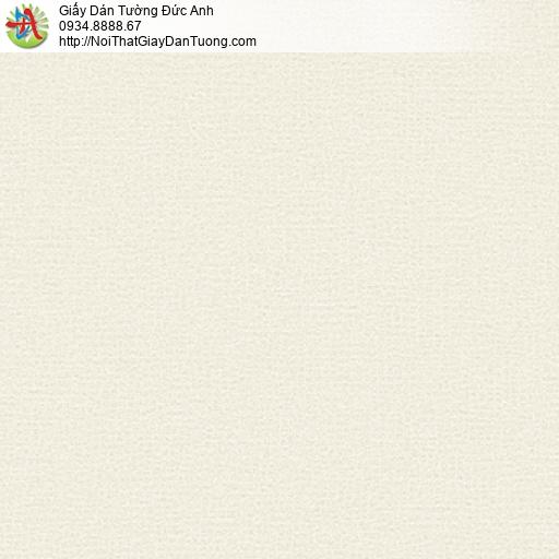 3013-4 Giấy dán tường gân màu vàng nhạt, giấy gân trơn đơn giản một màu