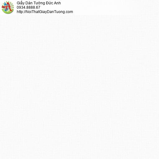 3014-1 Giấy dán tường gân màu trắng, giấy trơn đơn giản một màu hiện đại