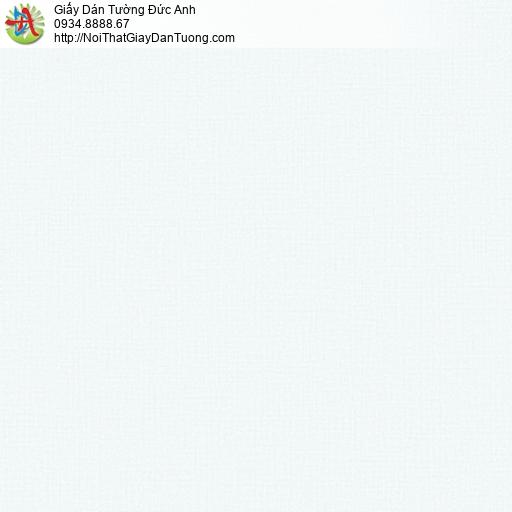 3014-6 Giấy dán tường trơn gân đơn giản màu xanh da trời nhạt, thi công giấy dán tường huyện Bình Chánh