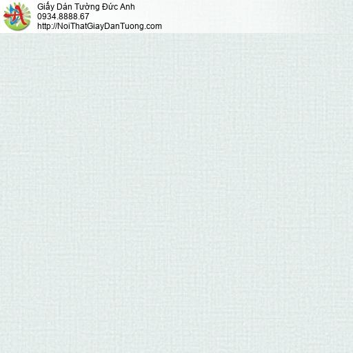 3014-7 Giấy dán tường trơn màu xanh nhạt, nhận thi công giấy dán tường tại Tphcm