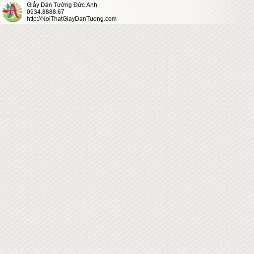 3015-2 Giấy dán tường gân màu kem, giấy dạng trơn gân hiện đại