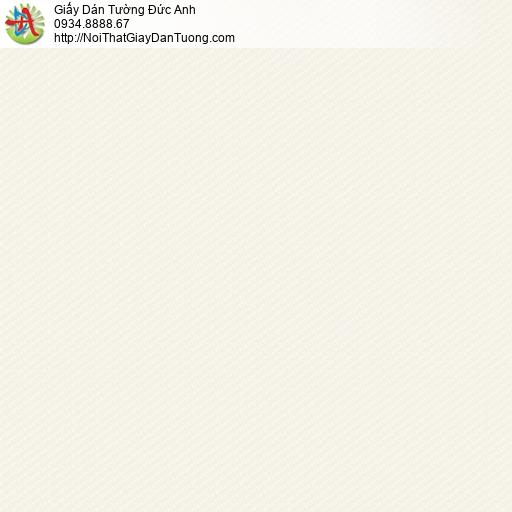 3015-4 Giấy dán tường gân màu kem, giấy gân đơn giản một màu đơn sắc