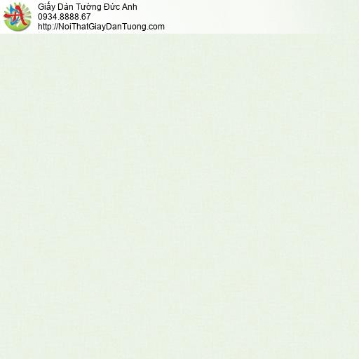 3017-2 Giấy dán tường trơn màu xanh lá nhạt, giấy gân màu vàng chanh