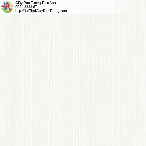 3018-1 Giấy dán tường sọc nhuyễn nhỏ màu trắng, vân dạng sọc nhỏ