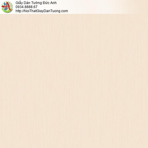 3018-3 Giấy dán tường sọc nhỏ màu cam nhạt, giấy dạng gân nhỏ hiện đại