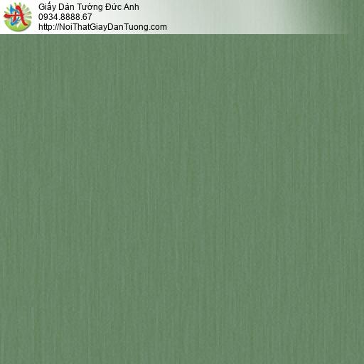 3018-6 Giấy dán tường màu xanh ngọc, giấy sọc nhuyễn màu xanh lá cây