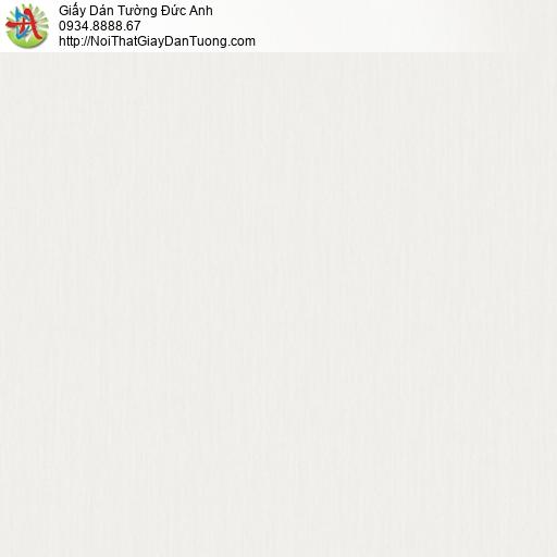 3018-7 Giấy dán tường sọc nhỏ màu xám nhạt, giấy sọc nhuyễn màu kem