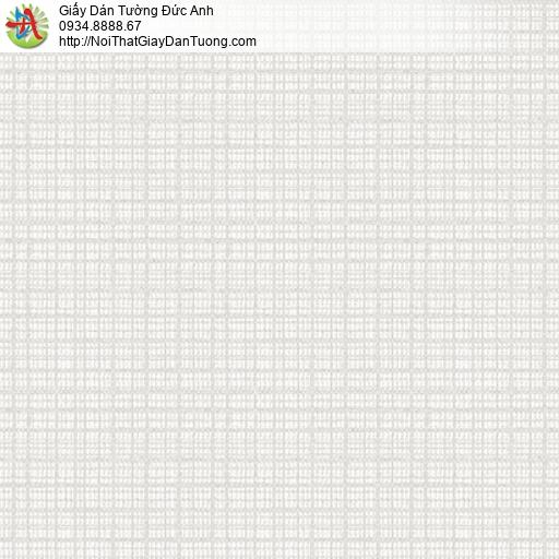 3019-1 Giấy dán tường những đường kẻ sọc ngang dọc màu trắng xám