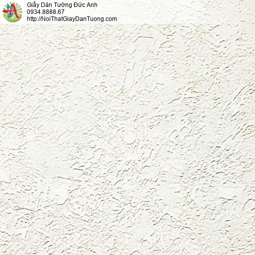 MG2021 Giấy dán tường gân màu kem, giấy gân to đơn sắc một màu hiện đại