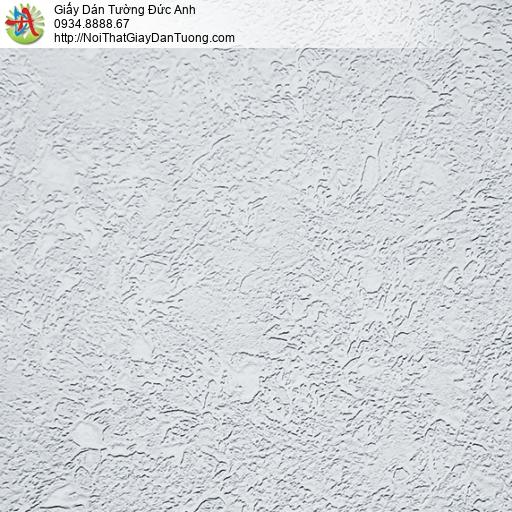 MG2023 Giấy dán tường gân to một màu xám hiện đại, giấy gân đơn sắc một màu