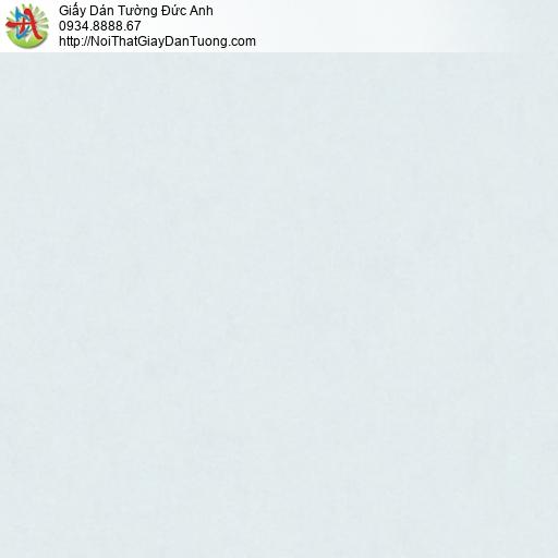 MG2042 Giấy dán tường gân đơn giản màu xanh nhạt, giấy gân trơn đơn sắc một màu