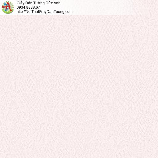 MG2101 Giấy dán tường gân màu hồng, giấy gân trơn đơn giản một màu