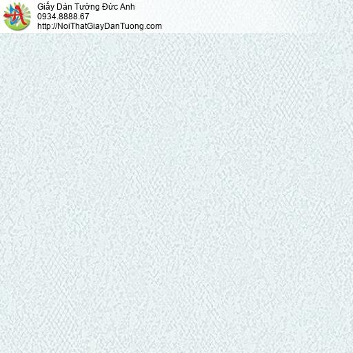 MG2104 Giấy dán tường gân lớn màu xanh nhạt, giấy gân to một màu hiện đại